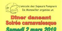 carnaval de monswiller 2019 : soiree carnavalesque