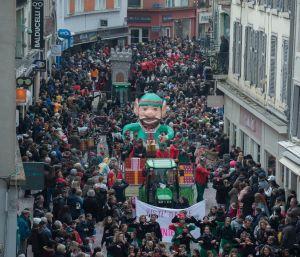 Le Carnaval de Montbéliard et ses chars impressionnants !