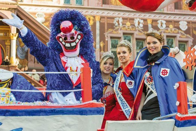 Le char royal du Carnaval de Mulhouse