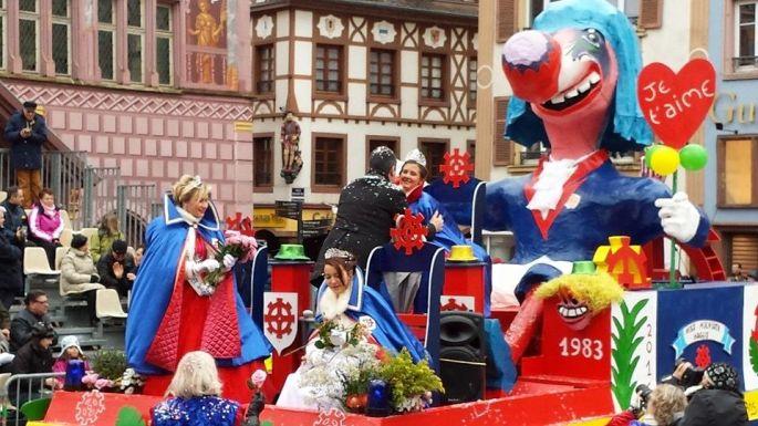 Le Carnaval de Mulhouse et ses chars