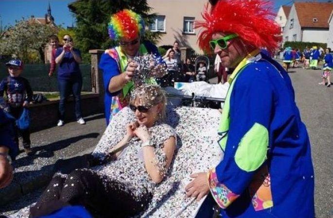 Le Carnaval de Sarreguemines et sa cavalcade dans les rues