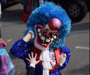 Les waggis défilent dans les rues de Delle pour le Carnaval