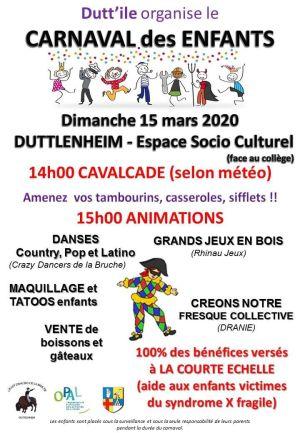 Le Carnaval des enfants à Duttlenheim