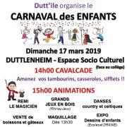 Carnaval des enfants à Duttlenheim