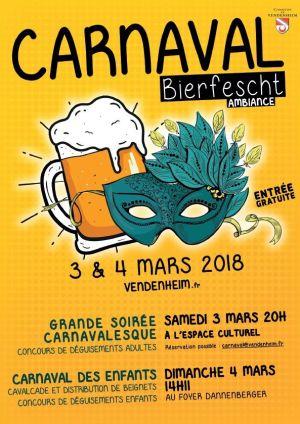 Carnaval des enfants à Vendenheim 2018
