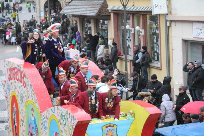 Le Carnaval de Lauterbourg et ses chars
