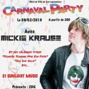 Carnaval party avec Mickie Krause à Sarreguemines 2018