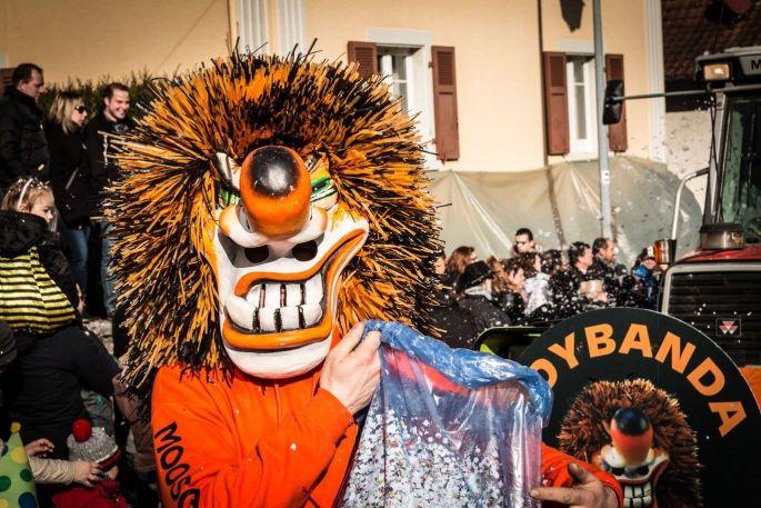 La fête bat son plein à Riespach pour le Carnaval !