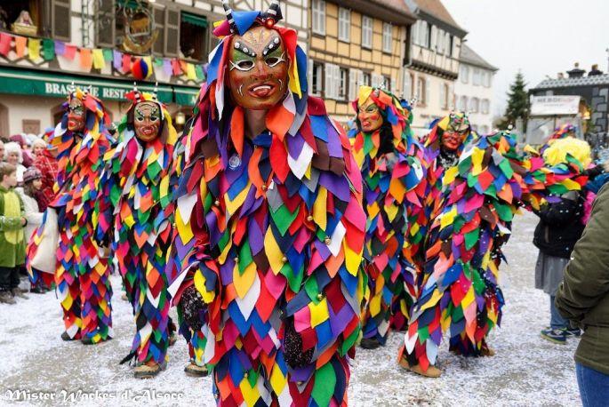 Le Carnaval bat son plein dans les rues de Sélestat !