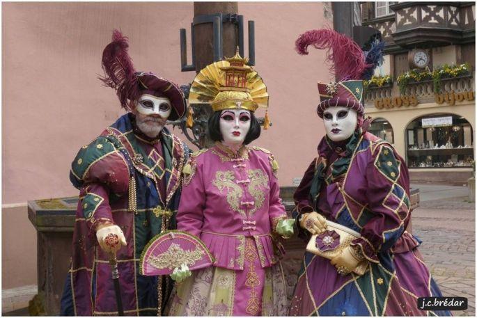 Les costumes de Venise s\'invitent dans les rues de Saverne