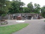 L\'une des casemates du Mémorial de la Ligne Maginot, à Marckolsheim.