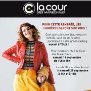 Casting et défilé de mode - Cour des Maréchaux