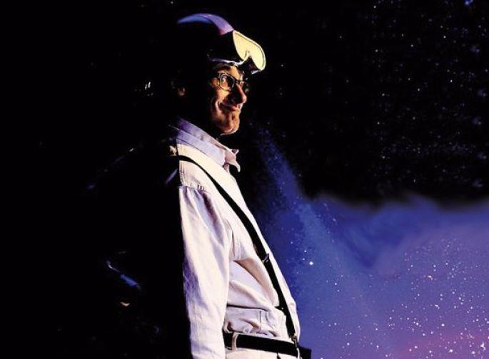 Jean-Luc Falbriard, dans son costume du Capitaine Sprütz