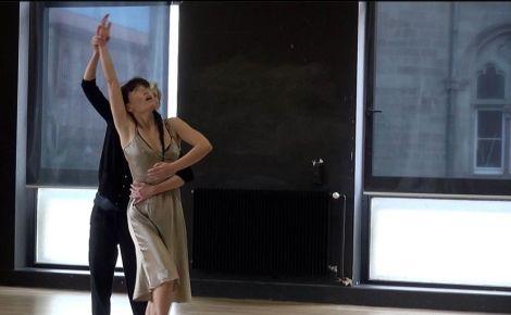 Celles qui me traversent avec les danseuses Akiko Hasegawa et Julie Coutant
