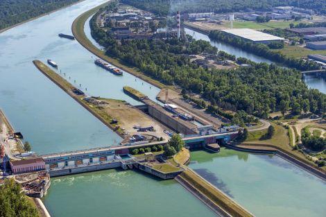 Centrale hydroélectrique EDF de Strasbourg