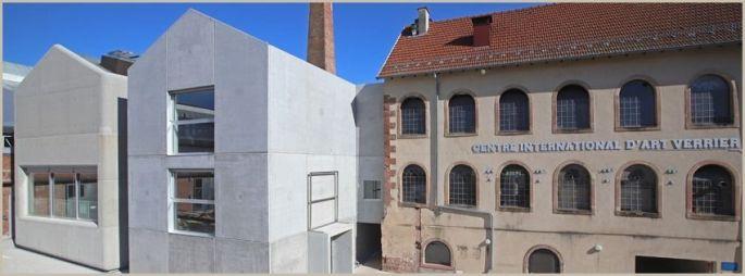 La nouvelle extension du CIAV à Meisenthal