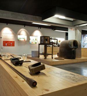 La collection à l\'intérieur du musée