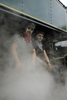 Cernay-Sentheim : Train des 7 familles d'Halloween