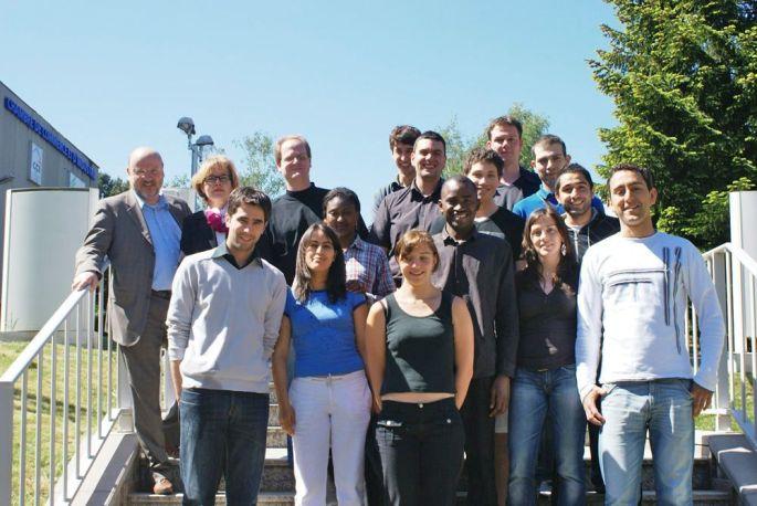 Une des promos en apprentissage avec le CFA Sud-Alsace