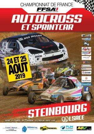 Championnat de France Auto cross Steinbourg
