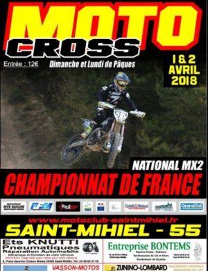 motocross 1 avril 2018