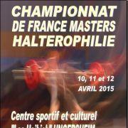 Championnats de France Masters d\'Haltérophilie 2015