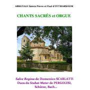 Chants sacrés et orgue