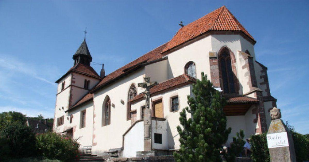 Chapelle saint s bastien dambach la ville eglise for Piscine de la chapelle saint luc