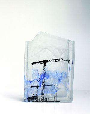 Pauline Betin et ses sculptures en pâte de verre
