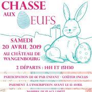 Chasse aux oeufs au Château de Wangenbourg 2019