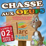 Chasse aux oeufs de Pâques à Bouzonville 2018