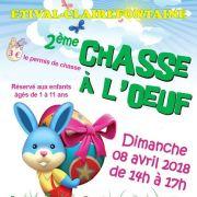 Chasse aux oeufs de Pâques à Étival-Clairefontaine 2018