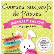 Chasse aux oeufs de Pâques à Nancy 2018