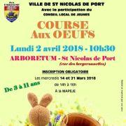 Chasse aux oeufs de Pâques à Saint Nicolas de Port 2018