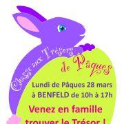Chasse aux trésors de Pâques à Benfeld