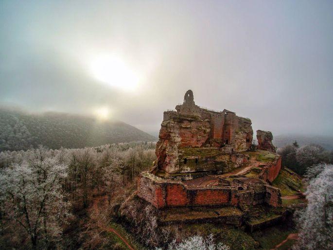 Le château de Fleckenstein à Lembach