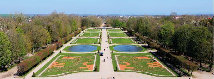 Les jardins du Château de Lunéville