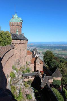 Le château du Haut-Kœnigsbourg visité par 500 000 personnes par an
