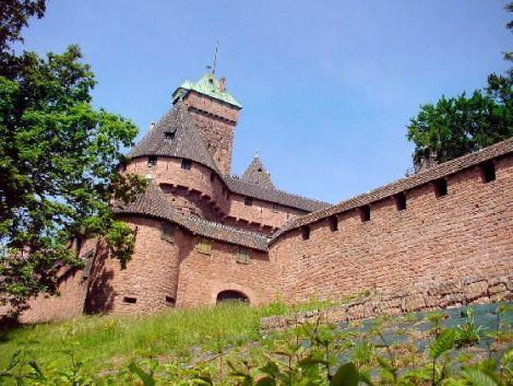 Le château du Haut-Koenigsbourg en Alsace