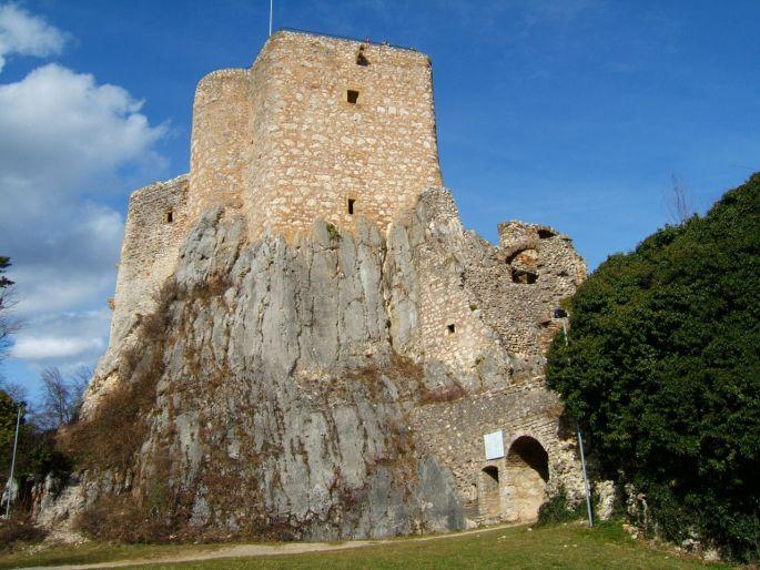 Les ruines du Landskron, la Bastille alsacienne