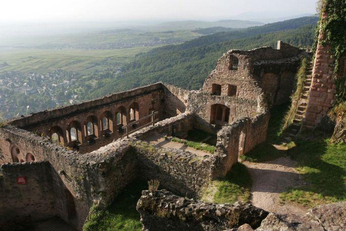 Château de St Ulrich à Ribeauvillé