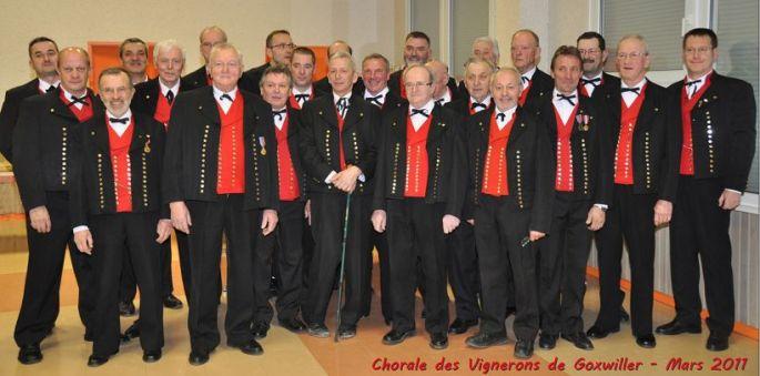 Chorale des Vignerons de Goxwiller