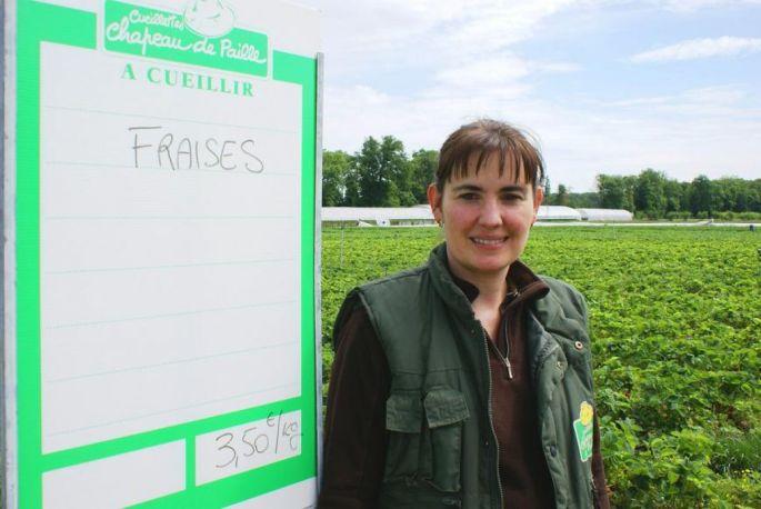 Christelle Schittly vous accueille à la Cueillette du Paradisvogel à Burnhaupt-le-Bas