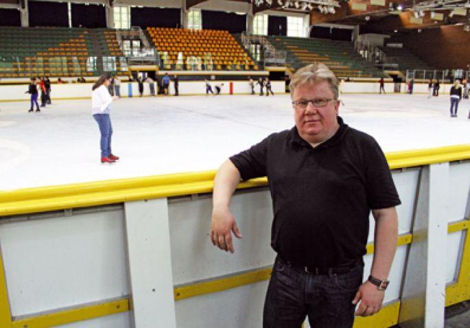 Christer Eriksonn, l\'entraîneur des Scorpions de Mulhouse