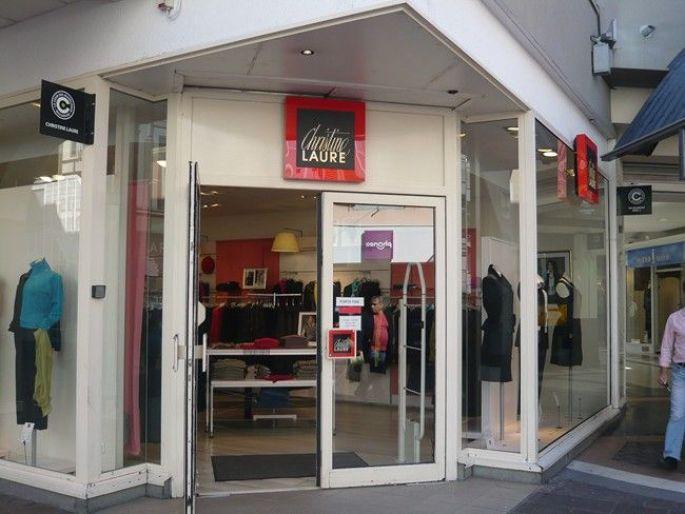 La devanture du magasins Christine Laure à Mulhouse