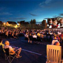 Cinéma en plein air à Ensisheim