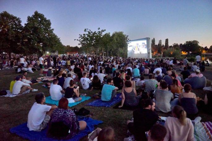 Ciné plein air à Metz: toujours un succès!