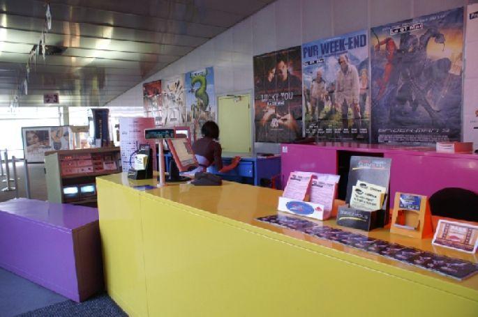 L\'accueil du cinéma La Coupole à Saint-Louis
