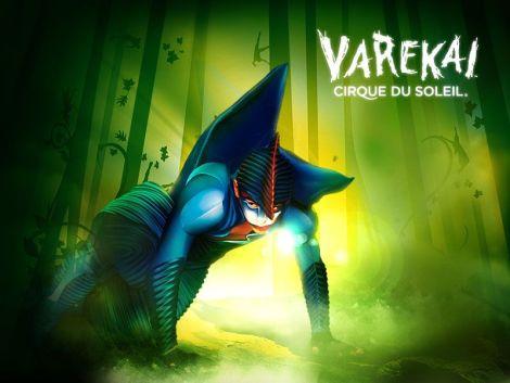 Varekai, le nouveau spectacle du Cirque du Soleil