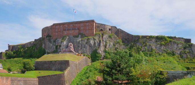 La citadelle de Belfort et son lion